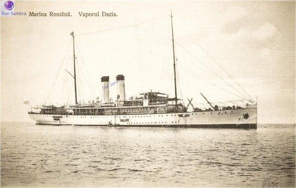 Romanian Auxiliary Cruiser Dacia, serve in WWI.
