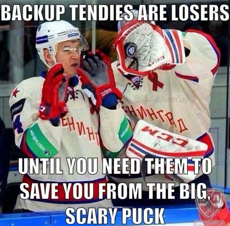 Funny Hockey Goalie Quotes Quotesgram