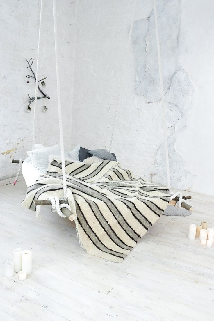 Scandinavian Bedding Coverlet Warm Wool Throw Blanket Hand Woven White Striped Plaid. Handmade blanket characteristics: Material: natural wool yarn Size: 2 x 2 m (78 x 78 inch) Technique: weaving art Manufacturing 5-10 days (it depends on the weather).