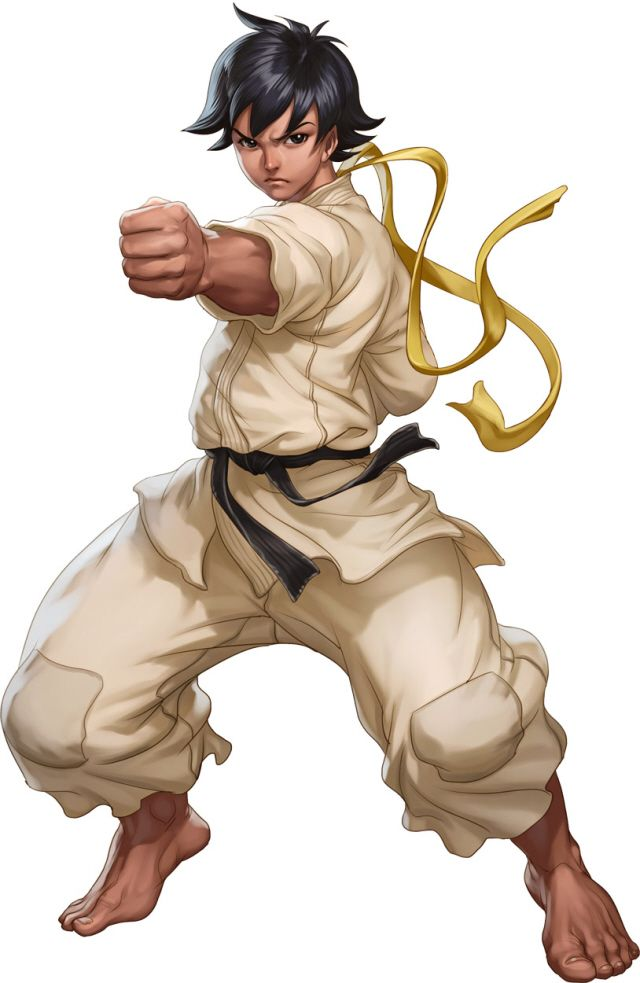 Street Fighter 3 Online Edition Makoto Characters List Artwork