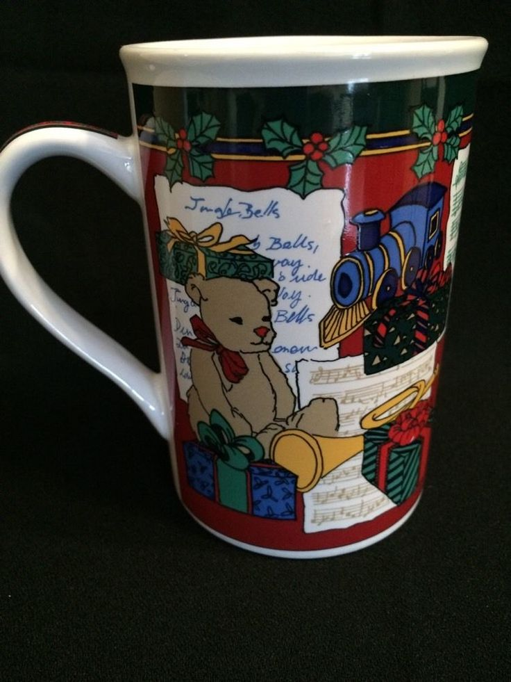 1996 Limited Edition Holiday Present Mug by Fire Works Designs | eBay