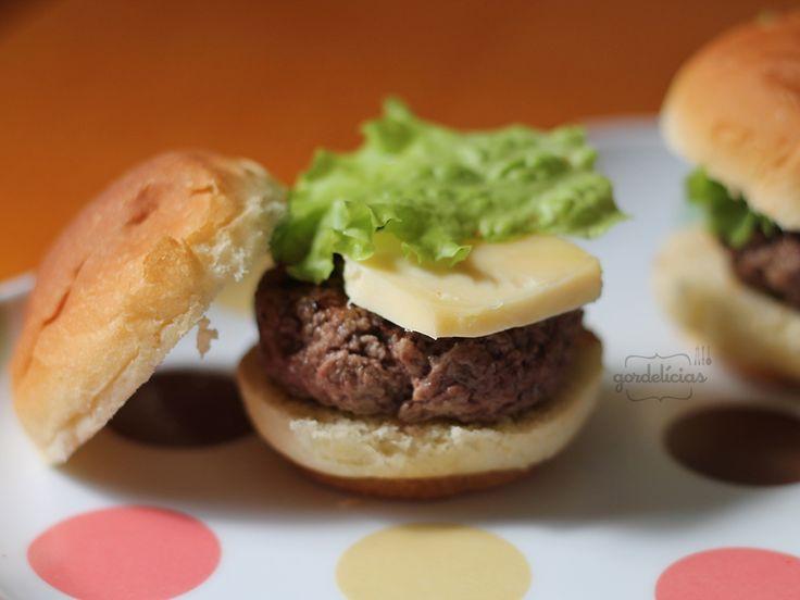 Mini-Burger & Maionese com Páprica Picante   Gordelícias