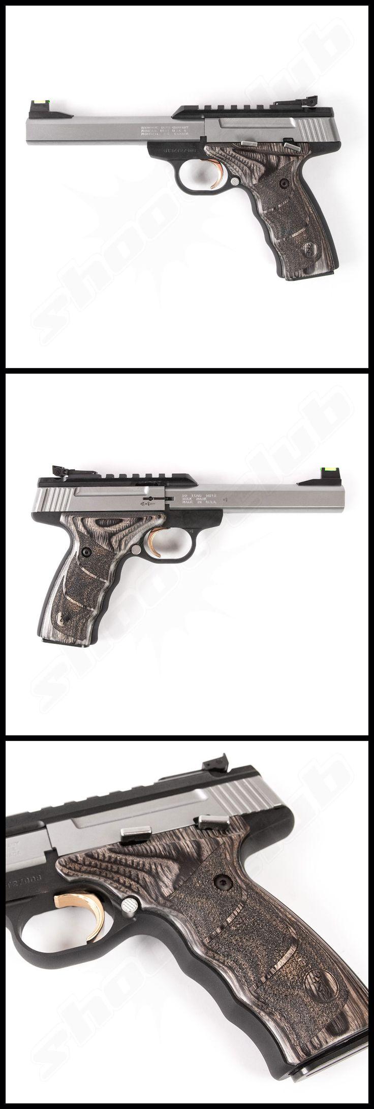 Browning Buck Mark UDX Stainless  Sportpistole im Kaliber .22lr