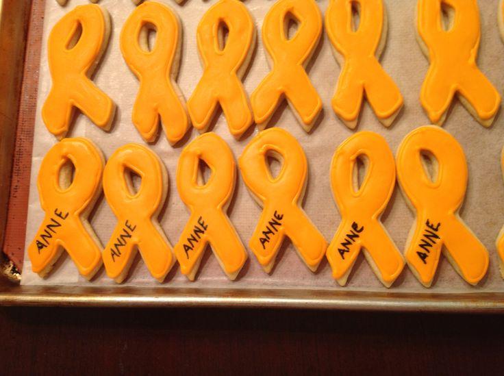 Leukemia Awareness Cookies