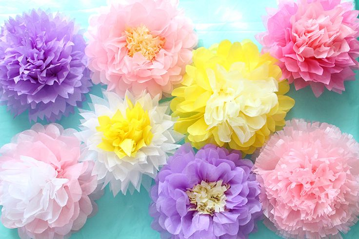 【お花紙】で作るお花、保育園や幼稚園時代からお馴染みですよね。あのお花紙で、実はここまで可愛いものも作れちゃいますよ♪                                                                                                                                                                                 もっと見る