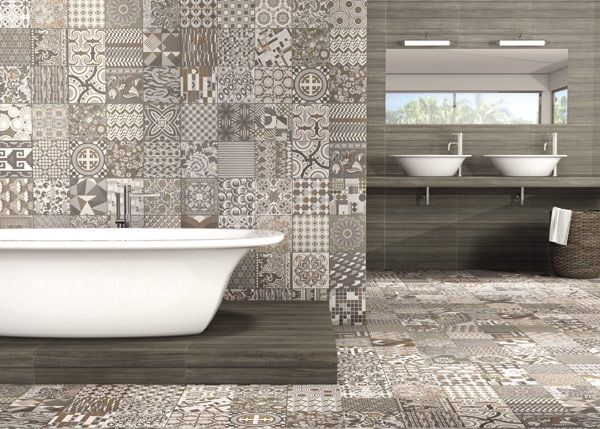 You can create a spectacular feature wall or splash back with this versatile Tapis tile!