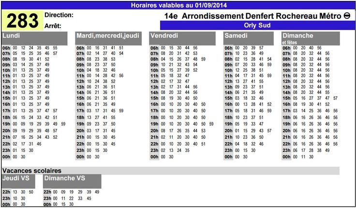Orlybus : horaires et tarifs de la navette aéroport Orly