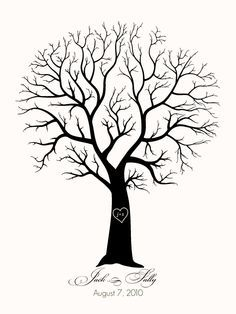 wood burning pattern for family tree - Google Search