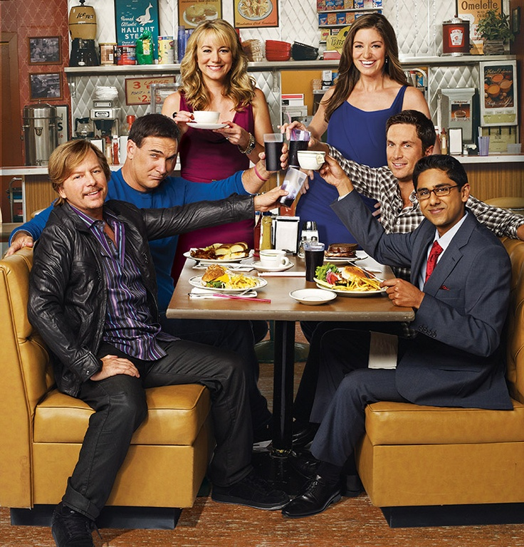 Rules of Engagement cast...all great in their own ways..