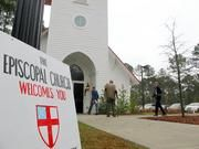 By MEG KINNARD     AP Photo/Bruce Smith             COLUMBIA, S.C.        (AP) — Dozens of parishes that split with The Episcopal Church over theological issues including the ordination of gay priests cannot take valuable real estate with them, according to a split ruling issued Wednesday... - #Can039T, #Dioceses, #Episcopal, #Millions, #Sc, #Split, #Us