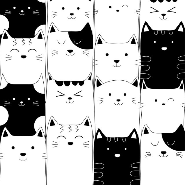 Doodle Cute Cat Hand Drawn Pattern Cat Drawn Hand Png And Vector With Transparent Background For Free Download How To Draw Hands Kitten Drawing Hand Drawn Pattern