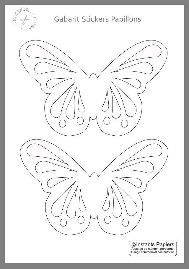 Schmetterling Vorlage In 2020 Schmetterlingsmobile Schmetterling Vorlage Fensterbilder Basteln