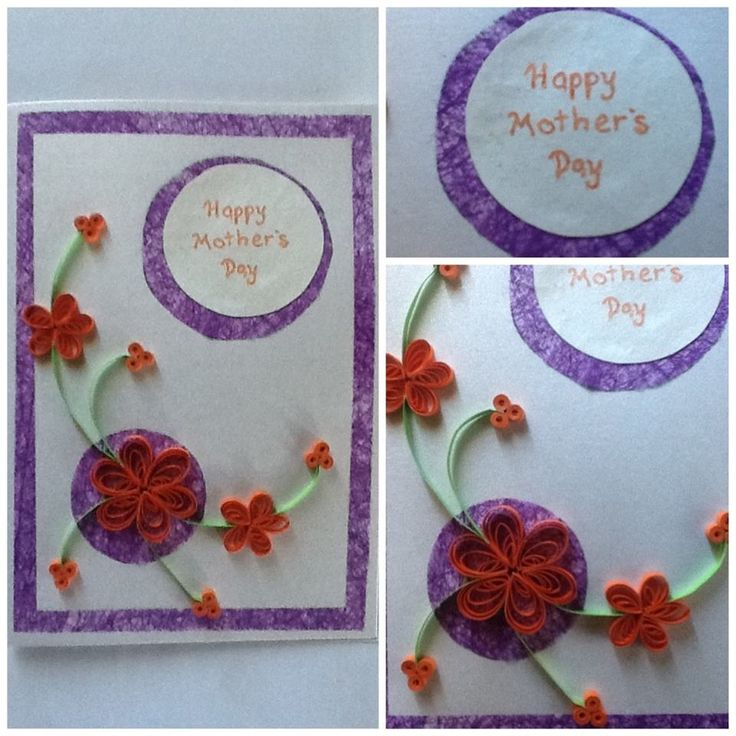A special handmade card for my mum
