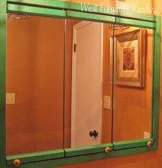 handmade mirror medicine cabinet - Google Search