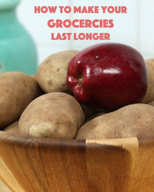 Laat je niet nog meer van uw voedsel verloren gaan!  Probeer deze eenvoudige behoud tips om het meeste uit uw boodschappen te doen.