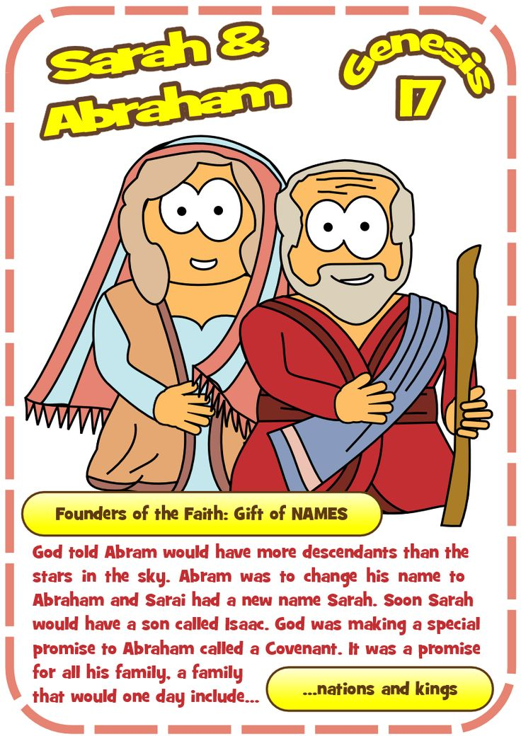 Hero resources for Sarah and Abraham - new names, new covenant (Genesis 17)