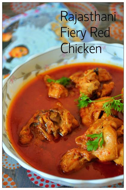 Curries & Stories: Rajasthani Fiery Red Chicken Curry & a trip to Veer Dam (Satara)