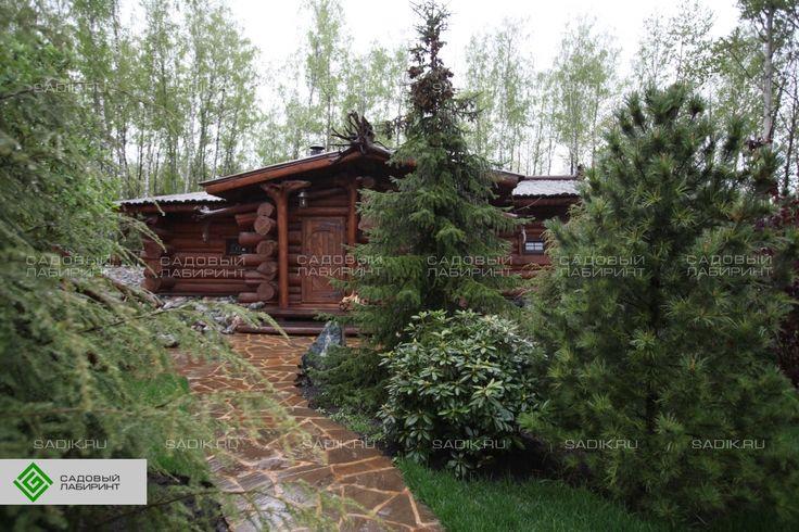 Сказочный мир в предместье Орла | Портфолио ландшафтный дизайн фото | Sadik.ru