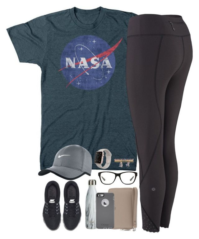 """""""too many ideas, not enough time"""" by kaley-ii ❤ liked on Polyvore featuring NIKE, Tory Burch, Ralph Lauren and Shashi"""