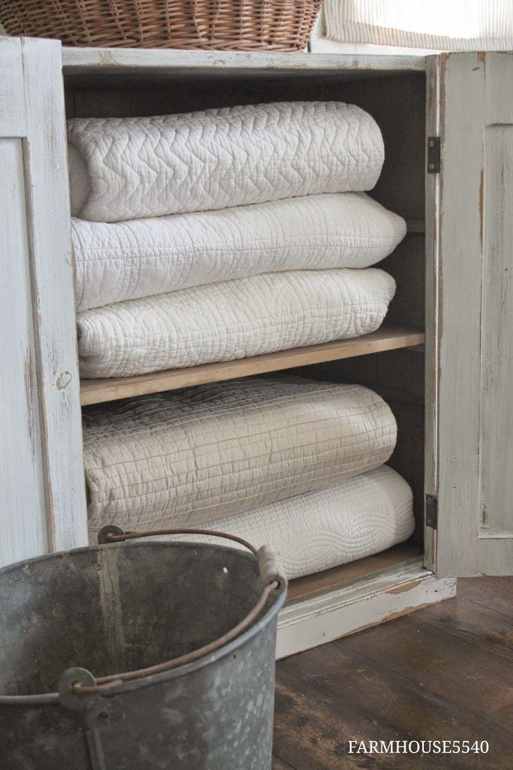 FARMHOUSE 5540: Farmhouse Friday ~ Farmhouse Storage