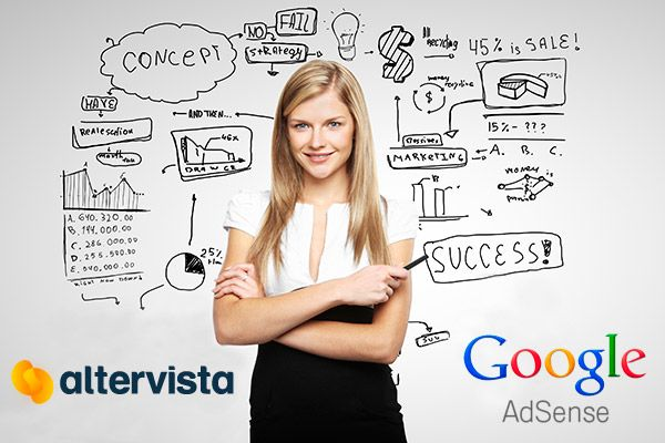 How to insert Altervista With Google AdSense Ads In Your WordPress Blog