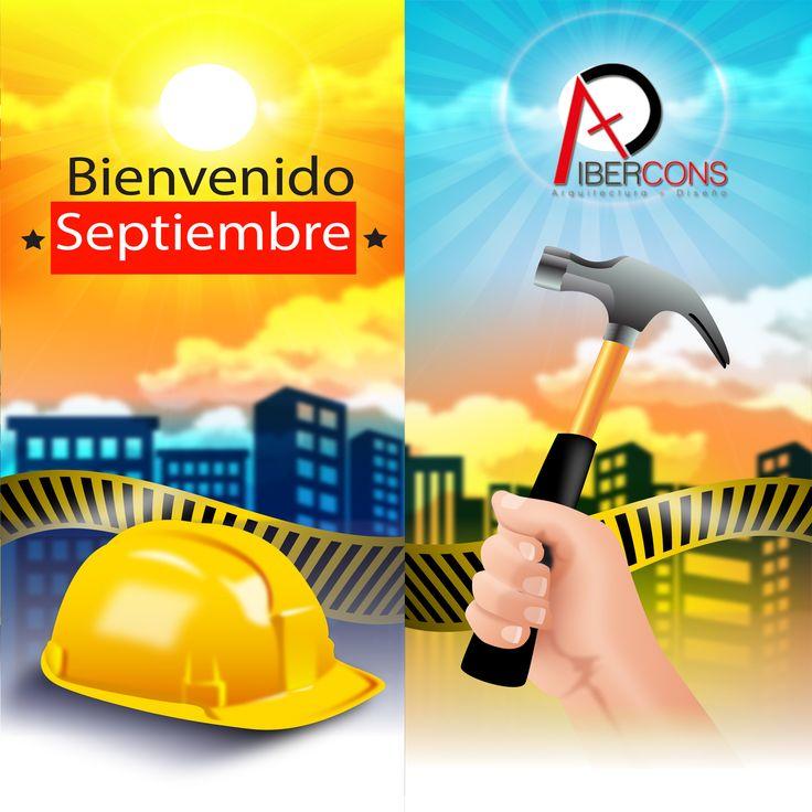 Hoy Ibercons Arquitectura + Diseño construyendo el futuro, le da la bienvenida al mes de septiembre comenzando con una actitud positiva. #Cali #septiembre #FelizJueves