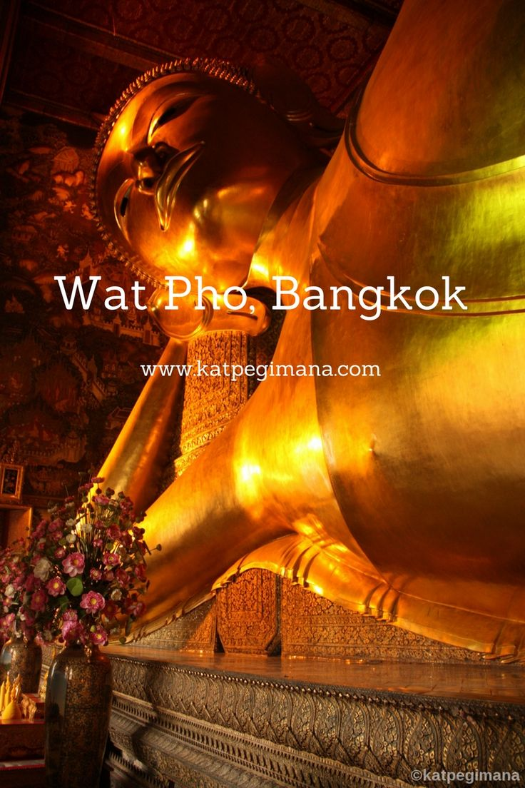 A photo essay of Wat Pho temple in Bangkok known for its Reclining Buddha made of gold and 160 feet in length.