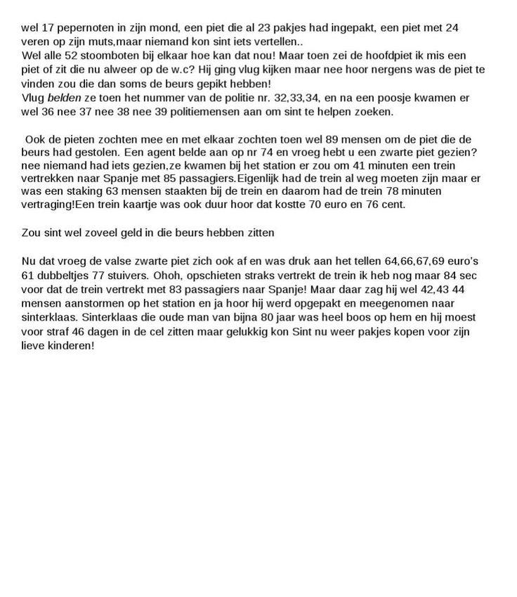 #ClippedOnIssuu from Bingo verhaal Sinterklaas