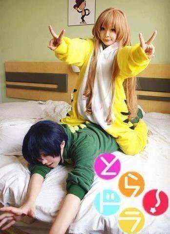 Toradora! , Taiga and Ryuji Cosplay