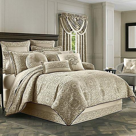 Best J Queen New York™ Mirabella Comforter Set In Beige Comforter Sets King Comforter Sets Queen 640 x 480