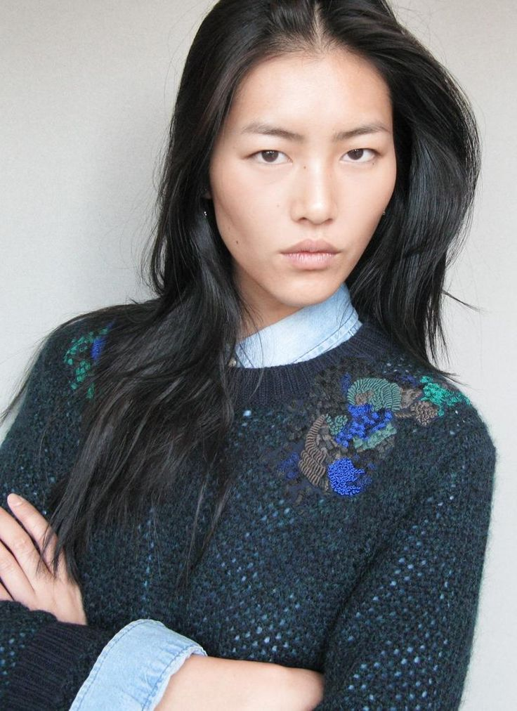 Liu Wen... this girl never failed to surprise me!