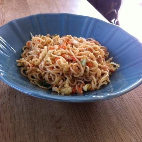 Rezept Chinesischer Nudelsalat von Elke F. - Rezept der Kategorie Vorspeisen/Salate