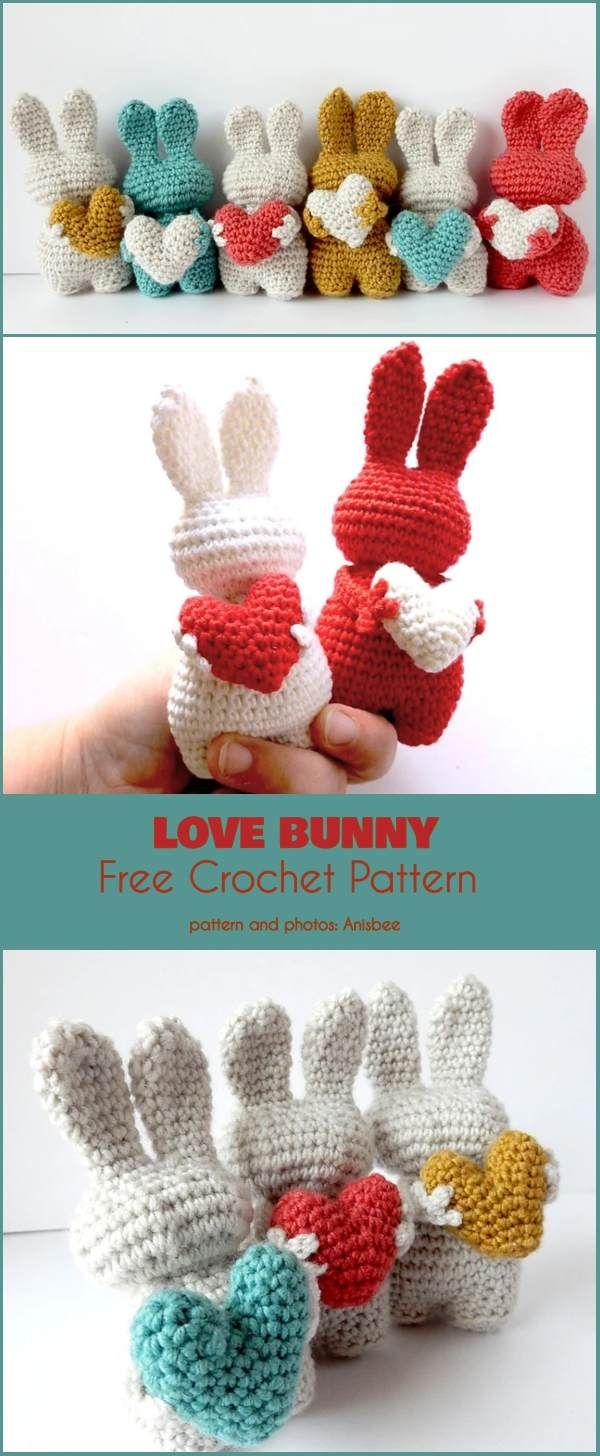 Love Bunny Free Crochet Pattern