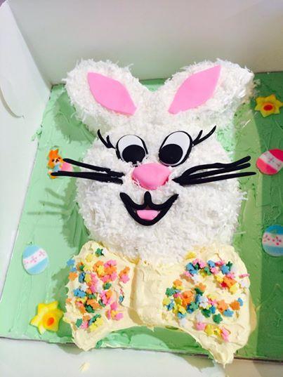 Easter Bunny time, kids class at Cake Bitz