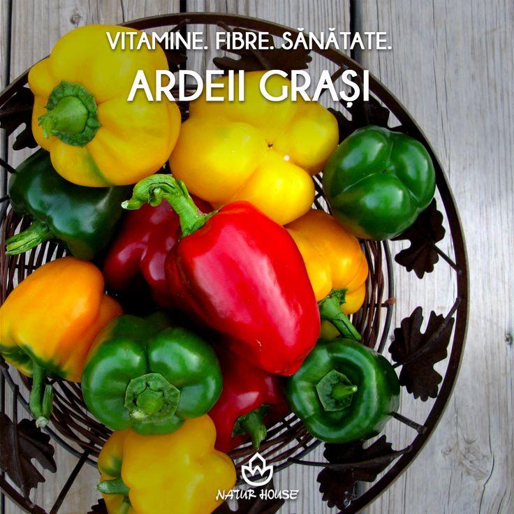 """Ardeii grași aduc o """"pată de culoare"""" în preparatele culinare, însă aceste legume conțin și o mulțime de vitamine, în special vitamina C, ajutând astfel la întărirea imunității. În plus, sunt bogați în fibre. Nu contează că sunt verzi, galbeni sau roșii, ardeii sunt la fel de sănătoși și îi poți folosi în salate, ciorbe, sau diferite alte mâncăruri. Mai multe sfaturi de nutriție pe www.natur-house.ro"""