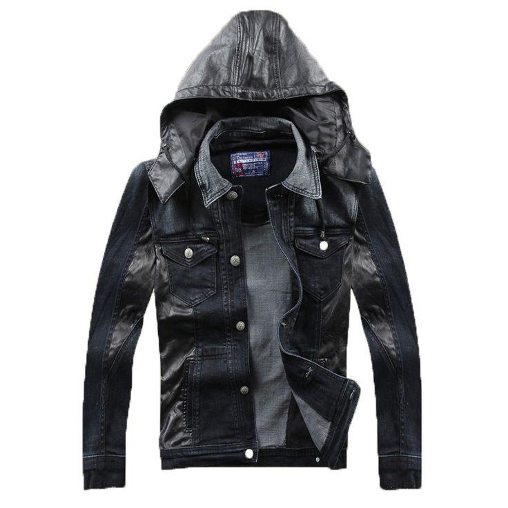 Воля бренд куртки весна осень деним джинсы куртка мужчины длинный рукав jaqueta пальто на открытом воздухе MXA0018