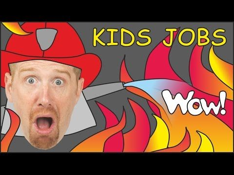 Jobs for Kids & Jobs Song from Steve and Maggie   English Stories for Kids