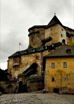 Slovakia-Orava-Castle
