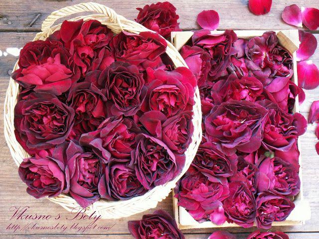 Вкусно с Бети: Сироп от рози - Syrup of Roses
