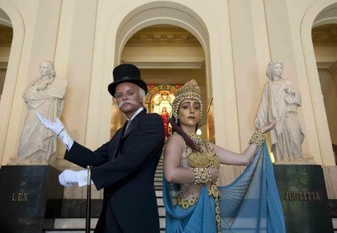 Agenda Cultural RJ: Visita teatralizada com Ruy Barbosa e deusa Têmis ...