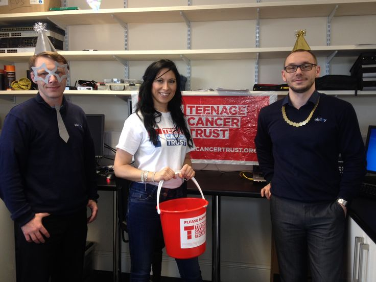 Ability IT supporting the Teenage Cancer Trust