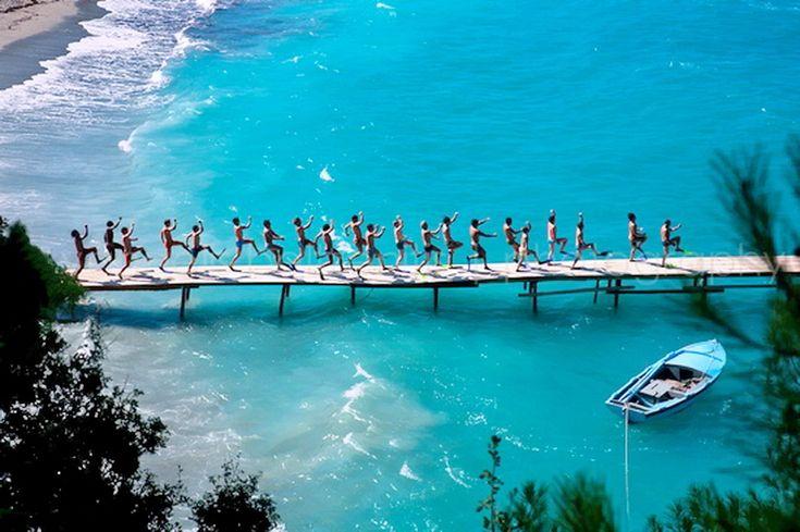 GREECE CHANNEL | Shooting the movie Mamma Mia! in the beautiful island of Skopelos ~ Greece.