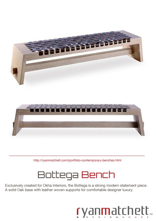 Bottega Bench
