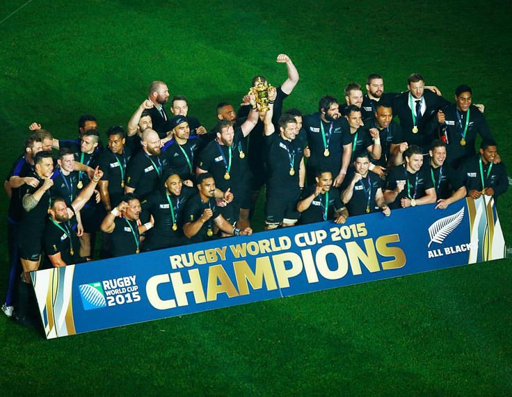 1987. 2011. 2015.  @allblacks become the first team in history to retain the #RugbyWorldCup.  More info via the link in our bio.  #WorldChampions #NZvAUS #RWC2015 #AllBlacks #Wallabies