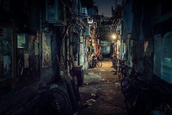 Streets of Shanghai. by Xie Ji