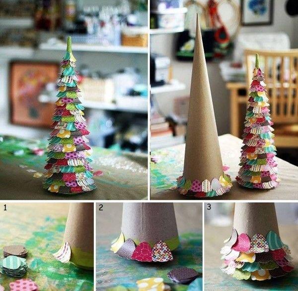 DIY Alternative Christmas Tree Ideas