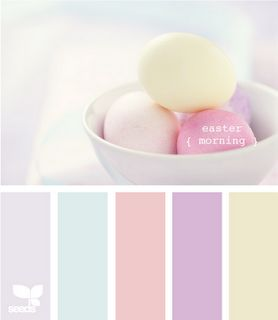 This is one of our favourite pastel colour palettes - why not mix and match for a creative take on the pastel trend?