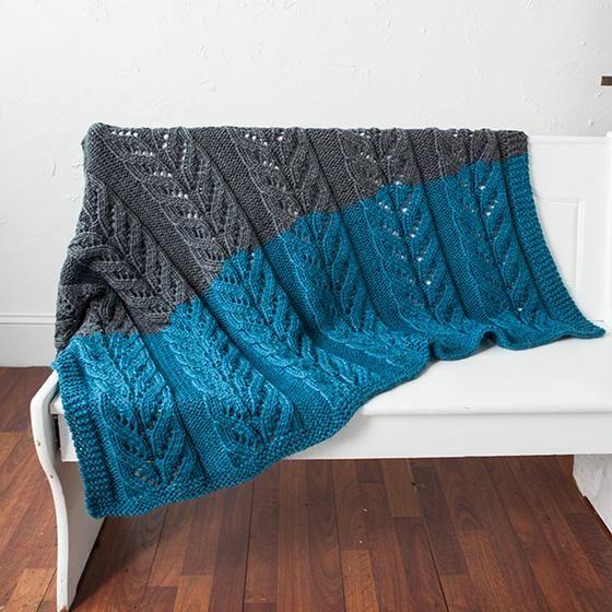 Pemberley Blanket - Knitting Patterns and Crochet Patterns from KnitPicks.com