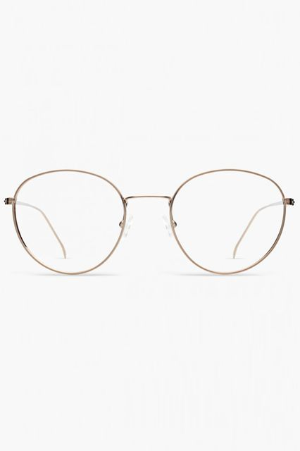 Thin frames give off an extra studious edge.Illesteva Jefferson, $165, available at Illesteva. #refinery29 http://www.refinery29.com/non-prescription-glasses#slide-11