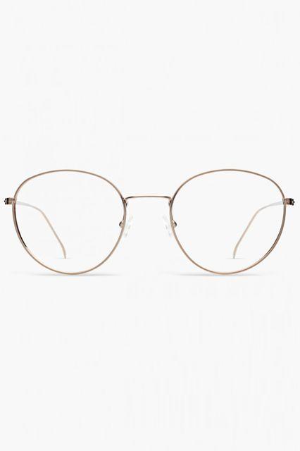 Thin frames give off an extra studious edge.Illesteva Jefferson, $165, available at Illesteva. #refinery29 http://www.refinery29.com/non-prescription-glasses#slide-11